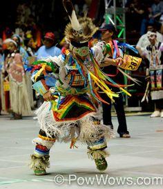 Pow-wow dancer