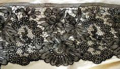 Chantilly Bobbin Lace, Vintage Lace, Ribbon, Embroidery, Boho, Detail, Crochet, Women, Whipped Cream