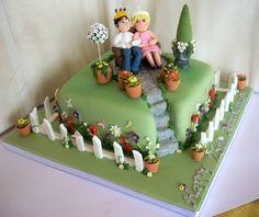 Nice gardener's cake