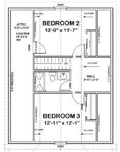 The Amelia Second Floor plan