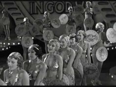 Classic Hollywood, Old Hollywood, Gold Diggers Of 1933, Deco Cinema, Busby Berkeley, Fred And Ginger, Ginger Rogers, 42nd Street, Shall We Dance
