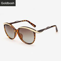 f3611cdda4 Find More Sunglasses Information about women Cat Eye Sunglasses polarized  retro fashion Leopard Metal Frame Brand
