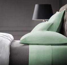 Maison Condelle 1000TC Cotton Rich 6-Piece King Sheet Set In Sage