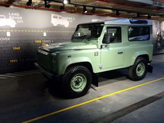 The Land Rover Defender 'Heritage' 90 Station Wagon