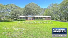571 Parkdale Dr, Hartwell Georgia 4 Sides Brick Ranch on Acreage