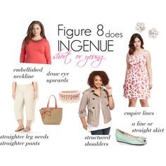 Figure 8 does Ingenue by expressingyourtruth on Polyvore featuring Jessica Simpson, American Rag Cie, Ellie, Kate Spade, Lipsy and Swarovski