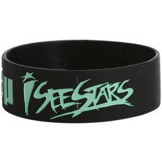I See Stars People Like You Rubber Bracelet | Hot Topic ($5.25) ❤ liked on Polyvore featuring jewelry, bracelets, wrist, accessories, band, rubber bangles, star jewelry, star bangle and rubber jewelry