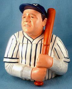 Babe Ruth Cookie Jar