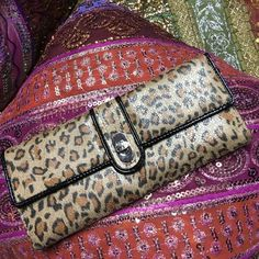 Cheetah print wallet Like new condition Bags Wallets