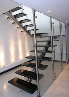 Escalera con pasos tipo alero 31