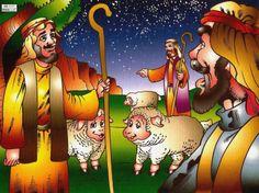 Jezus is geboren 2, free printable
