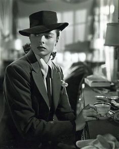 Film Noir Photos: Adventures in Androgyny: Ingrid Bergman