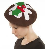 Festive Christmas Pudding Beret from ShmooBamboo
