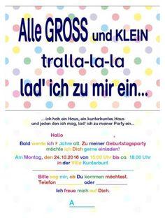 Einladung Pippi Langstrumpf Kindergeburtstag   Alle Groß Und Klein.