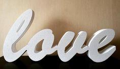 """Vārdińš """"love"""" no putuplasta. Fotosesijām dekorācijām. 50cm10cm #cncartliepaja #cnc #liepāja #putuplasts #dekoracija #fotosesija #kāzas #liepaja #wedding #fotosession #decoration #bigletters #lielieburti #love #mīlestība #ražotsliepājā #madeinlatvia #weddingsession #kāzusezona2016 #aksesuars by ozolscnc"""