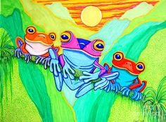subconscious mind frog