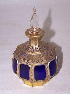 A good 19th century Moser art glass perfume.
