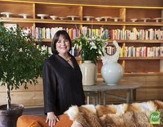 Ina Garten has her own workshop and test kitchen called The Barn, across from her East Hampton house. It's lined with shelves crammed with cookbooks, with cake stands ranged...