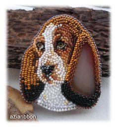 Очередная собака охотничьего сезона.   biser.info - всё о бисере и бисерном творчестве