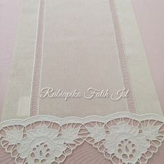 Arte Popular, Table Runners, Elsa, Lace, Godmothers, Angels, Embroidery, Racing