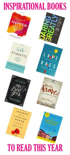 Inspirational Books To Read This Year