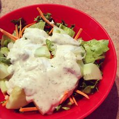 Homemade Vegan Ranch Dressing made without yucky ranch packets.  #Candida Diet