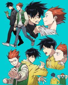 Mob Psycho Shou and Ritsu Anime In, Manga Anime, Baguio, Saitama, Jojo's Bizarre Adventure, Mob Physco 100, Mob Psycho 100 Anime, Demon Slayer, Kageyama