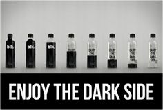 I don't know if I would drink black water...
