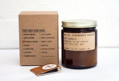 no. 10 sweet grapefruit 7.5 oz soy wax candle by pommesfrites