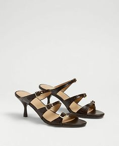 The High Waist Side Zip Ankle Pant | Ann Taylor Ankle Pants, Ann Taylor, High Waist, Kitten Heels, Zip, Sandals, Shoes, Fashion, Moda