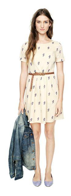 madewell roseblossom songbird dress