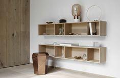 Como modern designer bookshelf by BoConcept Sydney Boconcept, Modern Bookcase, Bookcase Shelves, Plywood Shelves, Wall Shelving, Scandinavian Bookcases, Terrarium Design, Modern Furniture, Furniture Design