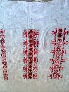 Адриана Хобби: Печать - Блузка, характерная для румынского народного костюма. Flower Embroidery Designs, Fun Things, Funny Things