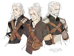 The Witcher by freestarisis on DeviantArt