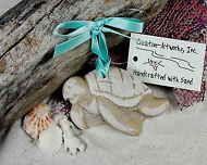 TURTLE, Sea Made of Sand Tropical Beach Ornament