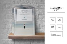 Magazine Vol. V (Fantasista) by Tiempo on @creativemarket