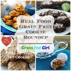 Real Food Grain-Free Cookie Roundup December 20, 2013 By Caitlin Weeks of Grass Fed Girl