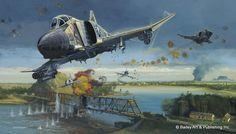 Dragon Slayers » Aviation Art by Robert Bailey