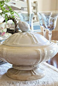 Savvy Southern Style ironstone collection