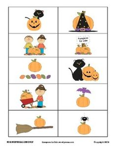 Pumpkin Prepositions Game!