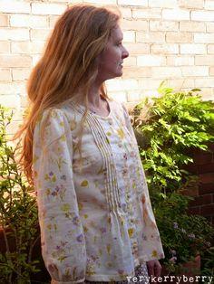 verykerryberry: I love Nani Iro. Dress J made as blouse from SDB1.