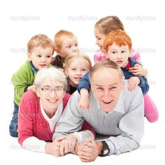grandparent with grandchild pictures | Grandparents with grandchildren — Stock Photo © Stephen Denness ...
