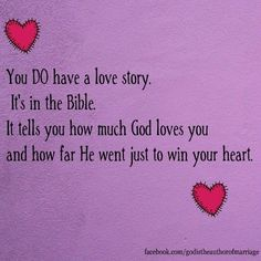 You DO Have A Love Story.