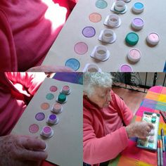Occupational Therapy for Adults – Jeffrey Bado – art therapy activities Nursing Home Crafts, Nursing Home Activities, Train Activities, Elderly Activities, Dementia Activities, Art Therapy Activities, Toddler Activities, Senior Citizen Activities, Crafts For Seniors