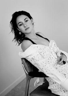 Shailene Woodley photographed by Thomas Whiteside for InStyle US
