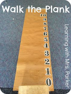 Learning With Mrs. Parker Subtraction games