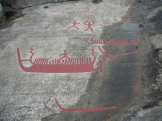 Rock Carvings near Fredrikstad Norway