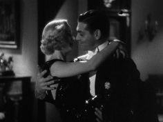 Carole Lombard and Clark Gable in No Man of Her Own (1933).
