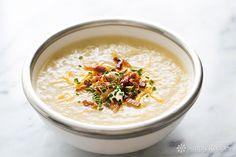 Baked Potato Soup Recipe on SimplyRecipes.com
