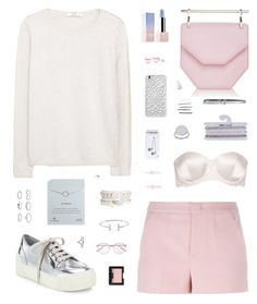"""Geometric Chic"" by belenloperfido ❤ liked on Polyvore featuring M2Malletier, MANGO, Sephora Collection, STELLA McCARTNEY, Marc by Marc Jacobs, RED Valentino, Topshop, ChloBo, Miss Selfridge and Dogeared"